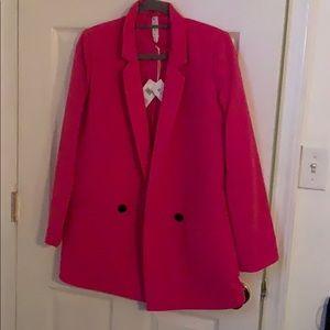 Cutest pink blazer!